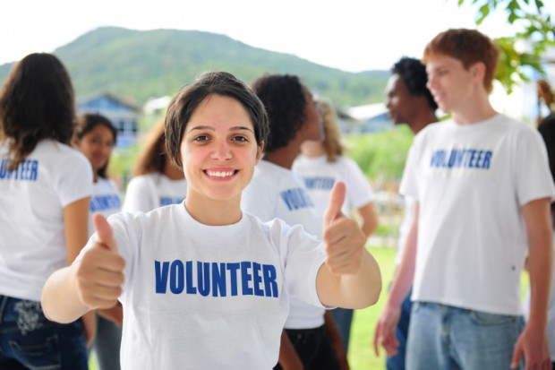 Volunteer events can provide experiential learning opportunities