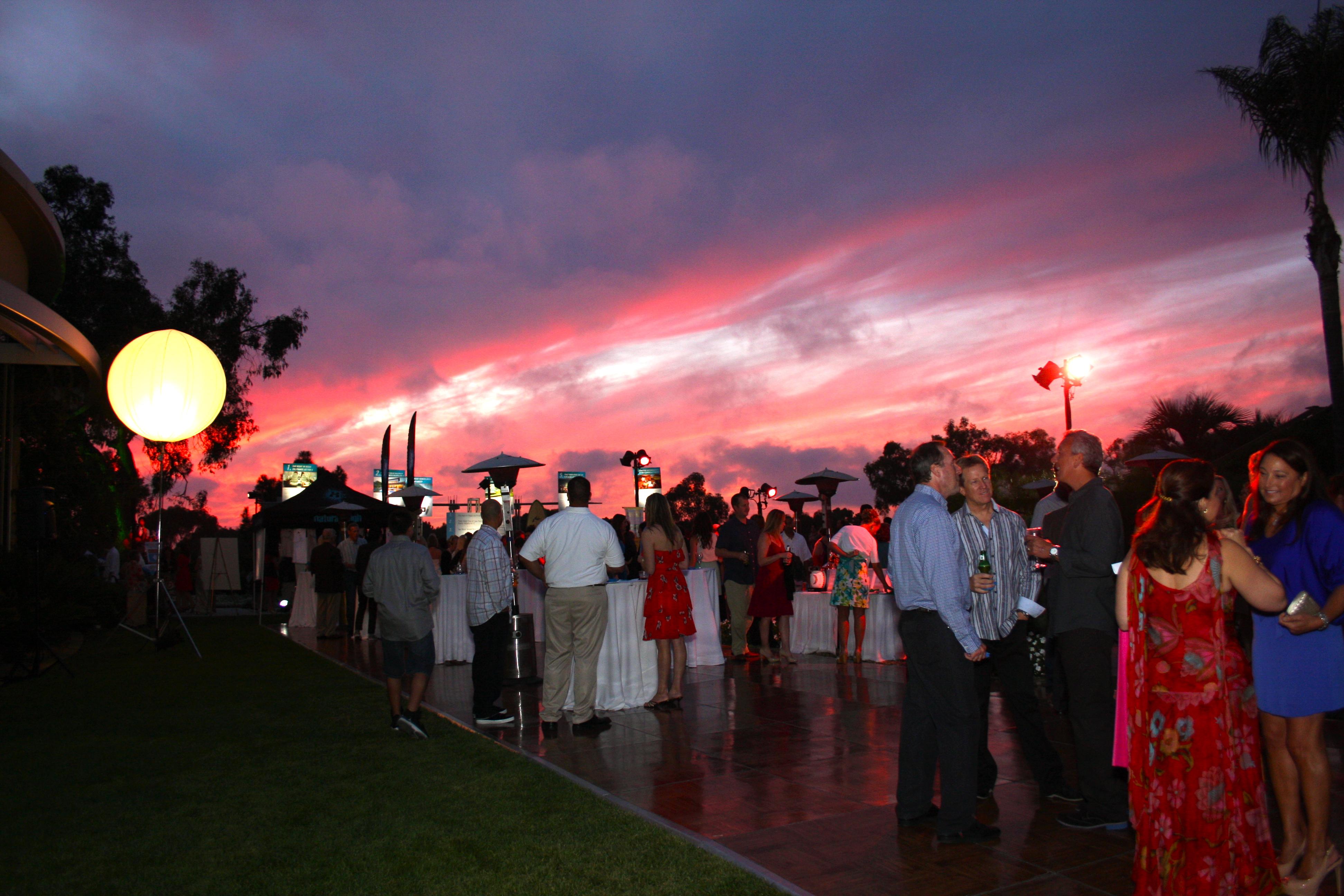 Natural High Sunset Splash Gala Vendors