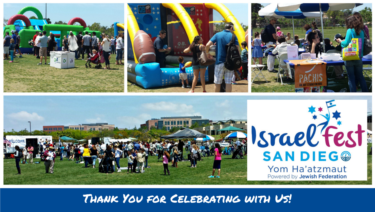 San Diego Celebrates Israel at Israel Fest 2015!