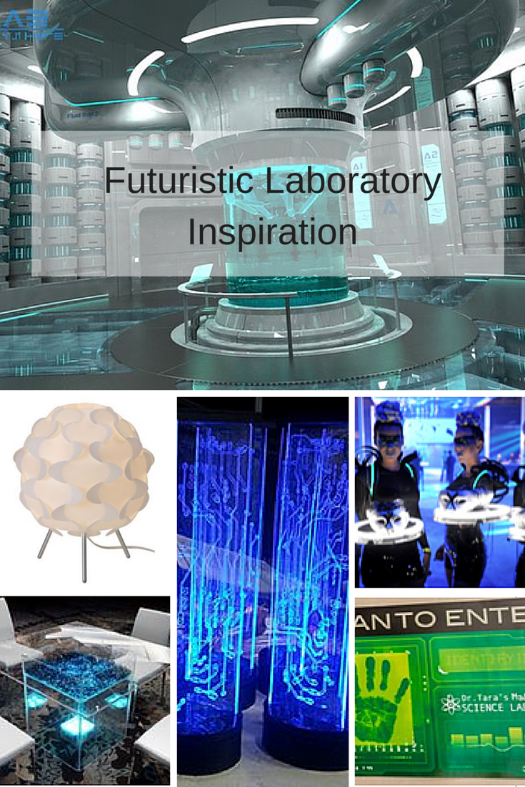 10 Ideas for a Futuristic Laboratory Themed Event